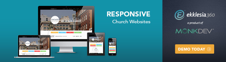 Demo A Responsive Church Website Ad 725x200